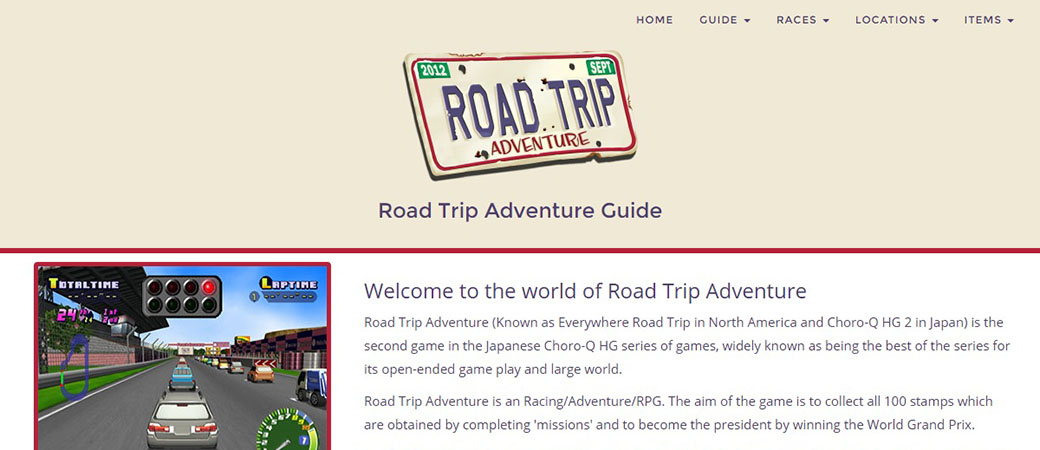 Road Trip Adventure Guide